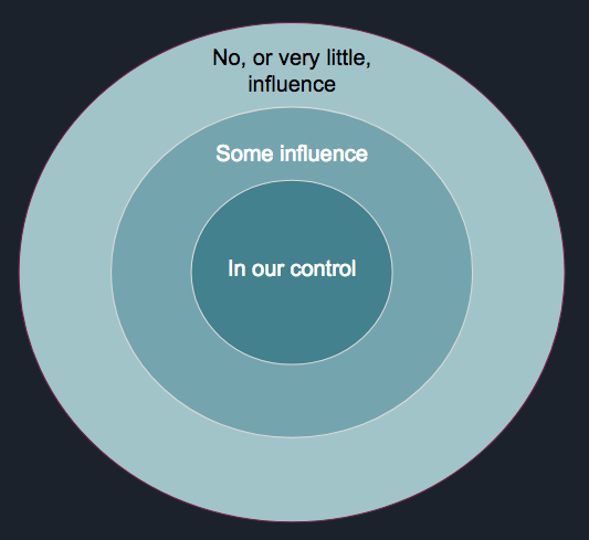 Circles of influence and control – An issue management technique